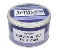 New Home Survival Kit In A Can